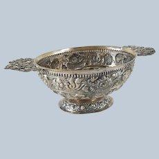 Early 17th/18th Century Dutch Silver Brandy Bowl