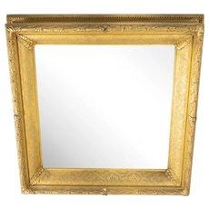 American 19th Century Gold Gilt Framed Mirror