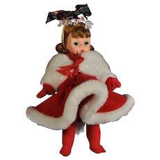 1995 Madame Alexander 'Winter Fun' Doll