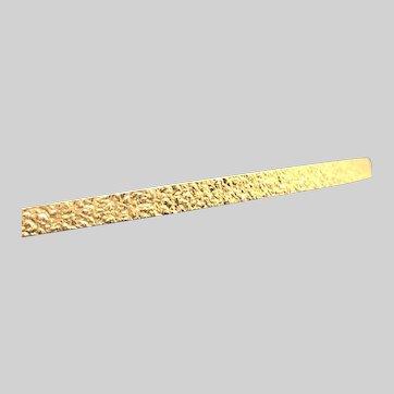 Vintage Monet Gold Tone Bangle Bracelet