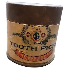 Toothpick Tin Can
