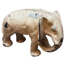 Cast Iron Door Stop - Elephant