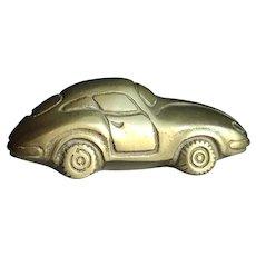 Brass Car Figurine Paperweight