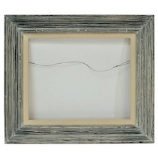 """Vintage Distressed Gray Solid Wood Picture Frame (16"""" X 20"""")"""