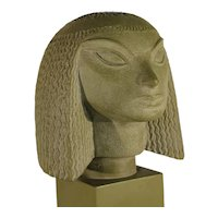 Fred Press (1919-2012), Mid-Century Egyptian Female Bust