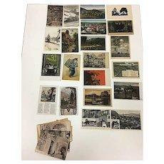 Vintage European Postcards - Lot of 20
