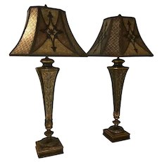 Fine Art Lamps, Villa 1919 Table Lamps, a Pair