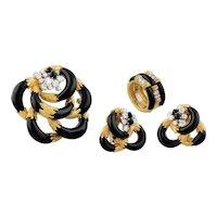 Onyx, Gold & Diamond Suite by Kutchinsky