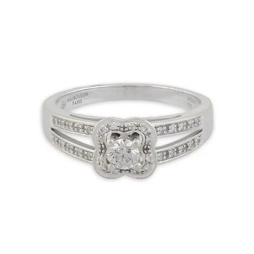Gold & Diamond 'Chance of Love' Ring by Mauboussin