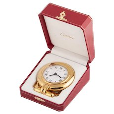 Cartier Colisee table alarm clock