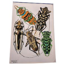 E. A. Seguy, Insectes (Insects) - Plate 4
