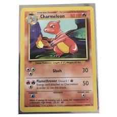 Charmeleon - 24/102 - Uncommon  Base Set Pokemon 2B3