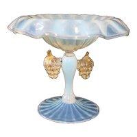 Ercole Barovier Vintage Murano Tazza Vase