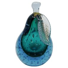 Vintage Murano Glass Pear
