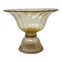 Murano Glass Candy Dish by Gambaro & Poggi