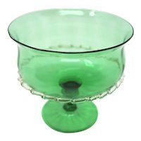 Vintage Murano Glass Candy Bowl