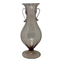 Soffiato Murano Glass Vase
