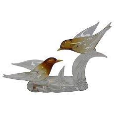 Vintage Archimede Seguso Birds Figurine