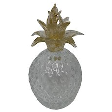 Vintage Glass Pineapple