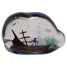 Oball - Murano Glass Shipwreck Aquarium