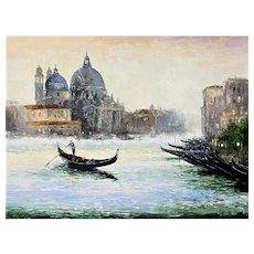 Venetian Evening, Painting by Gleb Golubetski