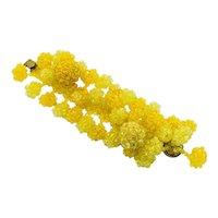 Vintage Coppola e Toppo Yellow Beads Bracelet