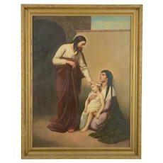 After Gabriel von Max. 19th Century. Jesus Heals the Sick