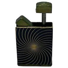 1950's Pocket Perfume Atomizer Consul Amor, Germany, Brass and Enamel