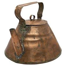 1940's Swedish Copper Tea Kettle