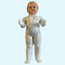"14"" German Frozen Charlie Bathing Baby Boy Doll"