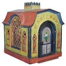 Authentic MAGIC BANK JE Stevens Victorian Mechanical