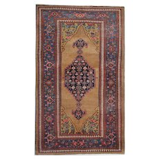 Traditional Persian Area Rug 1880- 157x266cm