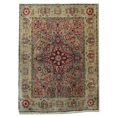 Hand Woven Indian, Agra Area Rug 1900- 132x174cm