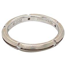 Tiffany & Co. Diamond Satin Band Ring