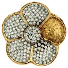 Torrini Italian Diamonds Flower Ring