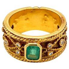 1950 Band Ring