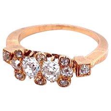 Victorian 1.60 Carat Diamond Ring