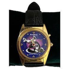Warner Brothers PEPE LE PEW Penelope Musical Watch In The MOOD for LOVE~UNTESTED
