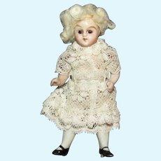 Antique Bisque miniature German doll house doll