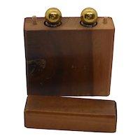 Wilson Co. perfume set in wooden box