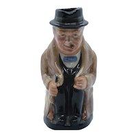 Royal Doulton Character Jug, Winston Churchill