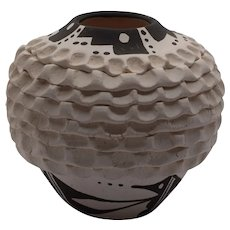 Acoma Pottery Jar by Norma Jean, signed