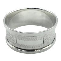 1934 Sterling Silver Napkin Ring