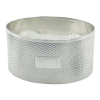 1937 Sterling Silver Napkin Ring