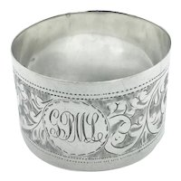 1915 Sterling Silver Napkin Ring