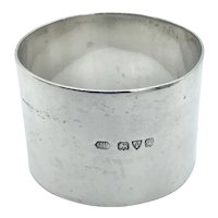 1947 Heavy Sterling Silver Napkin Ring