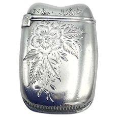 Vintage Sterling Silver Vesta Case or Match Safe