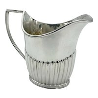 Antique Silver Plated Cream Jug, Mappin & Webb