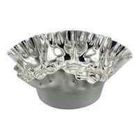 Antique Silver Plated Bon Bon Dish