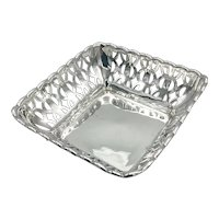 Vintage Sterling Silver Bon Bon Dish, Hallmarked 1926